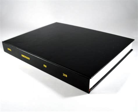 Thesis binding st albans